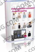 Filter product extended - фильтр JoomShopping